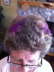 purple hair photo